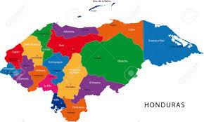 mapa hondureno